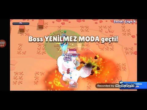 Boss savaşı efsanevi galibiyet(brawl stars)