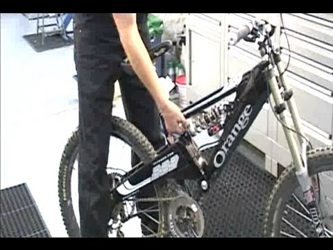 Настройка подвески велосипеда