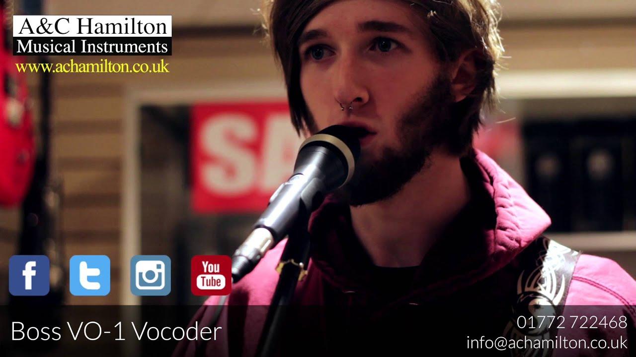 NEW Boss VO1 Vocoder - FIRST PLAY