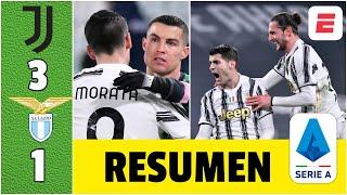 Juventus 3-1 Lazio. Doblete de Álvaro Morata y gol de Rabiot ponen a la Juve en la pelea | Serie A