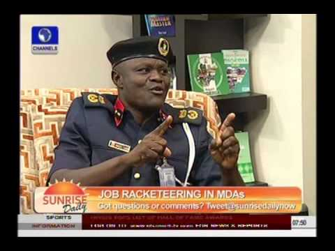 Employment Scam Can't Happen In Civil Defence -- Lagos Commandant - Part 2