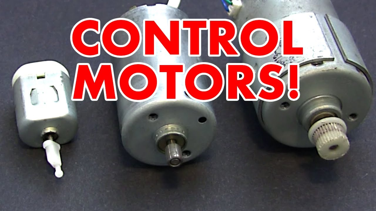 H Bridge Motor Speed Controller Tutorial Youtube Three Phase Dc Control Circuit Dual