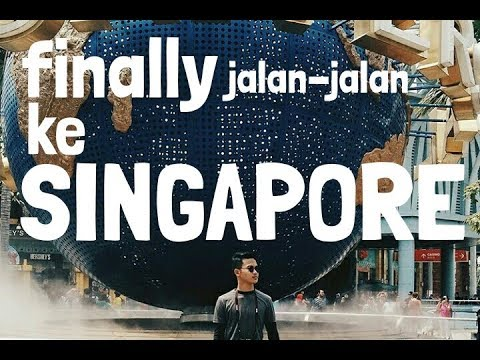 SOLO TRAVELING TO SINGAPORE #part2 that's merlion!!!!