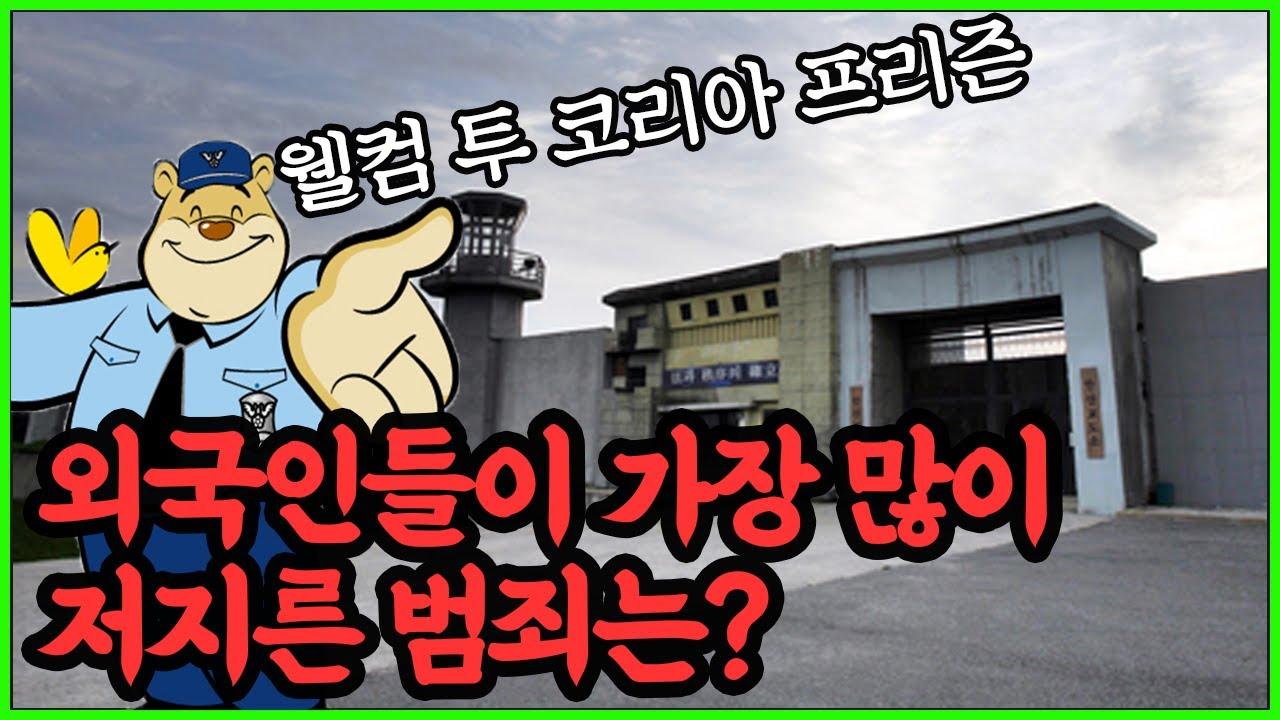 외국인들은 어떤 범죄로 교도소에 수감되었을까? (외국인 수용자 현황)