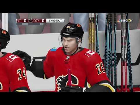 NHL 19 - Ottawa Senators Vs Calgary Flames Shootout