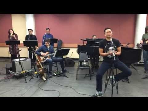 Thinking Out Loud - Rehearsal for Lincoln Center American Songbook - Jose Llana