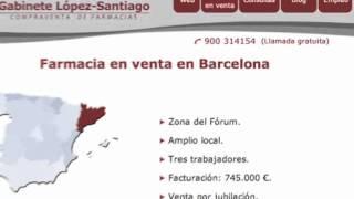 Farmacia en venta en Barcelona