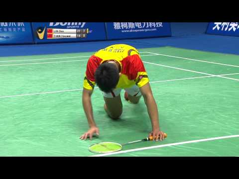 [HD] Final - MS - Lin Dan vs Tian Houwei - 2014 China Masters Grand Prix Gold