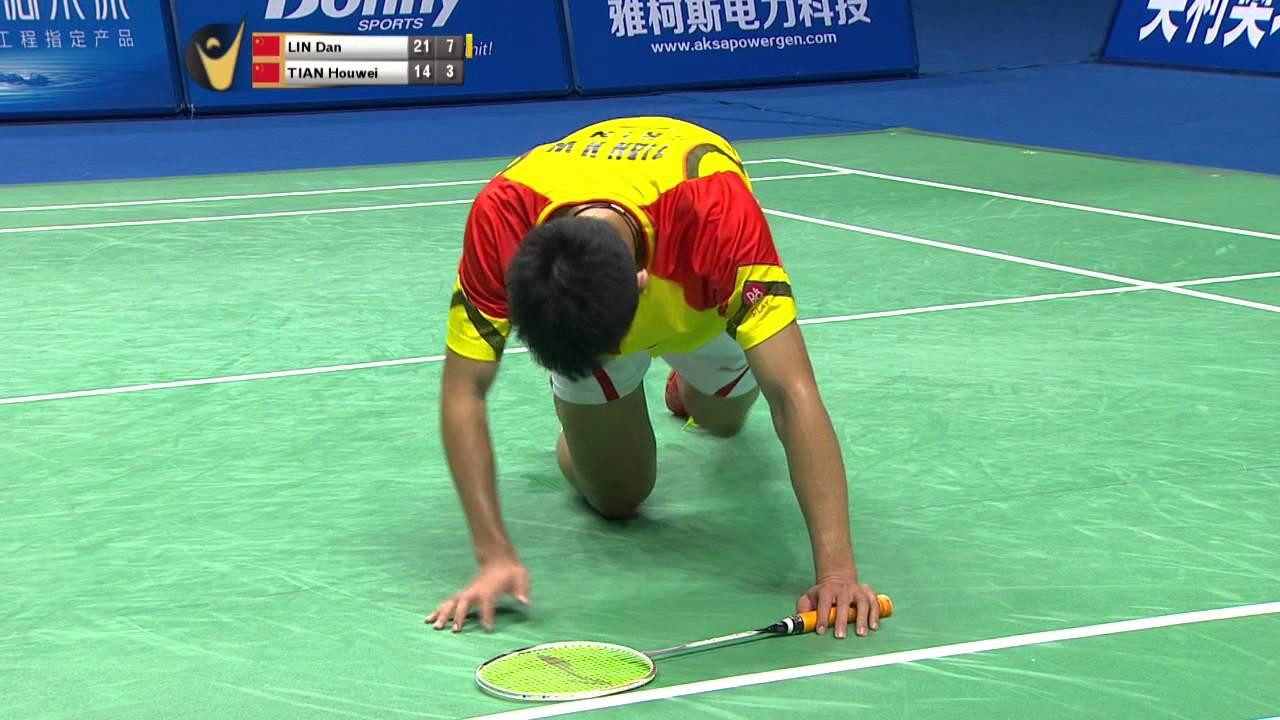 HD] Final MS Lin Dan vs Tian Houwei 2014 China Masters Grand
