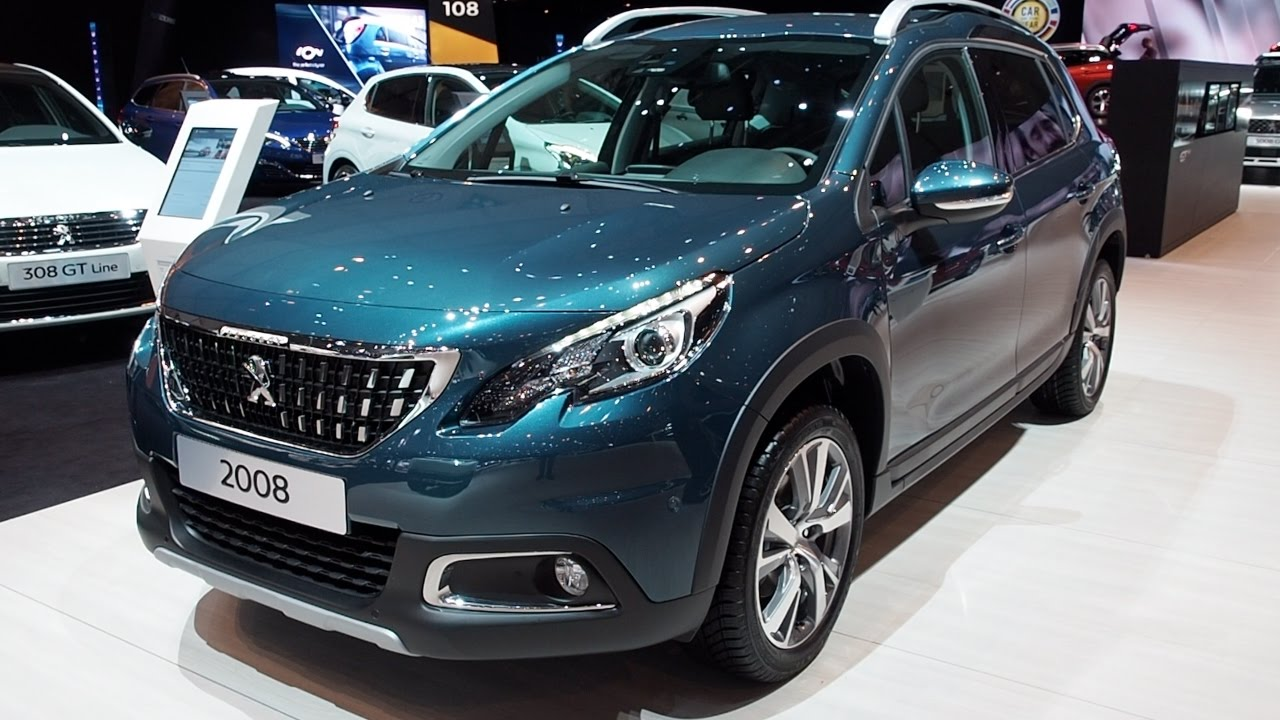 peugeot 2008 2017 in detail review walkaround interior exterior youtube. Black Bedroom Furniture Sets. Home Design Ideas