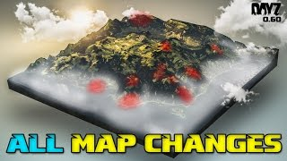 All DayZ 0.60 Map Changes + Tisy Military Base