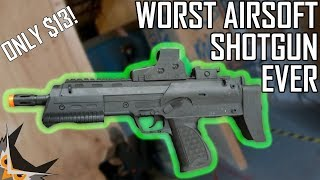 I Found the WORST Airsoft Shotgun Ever | UKARMS MAG 7