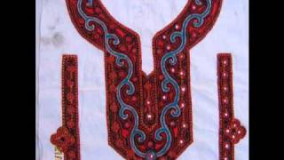 Sindhi Hand Embroidery, Balochi  Embroidery, Afghan Embroidery, Needle work, Embroidered Neck