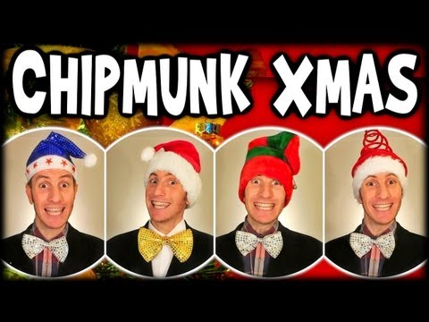 Chipmunk Christmas Song - A Cappella Barbershop Quartet