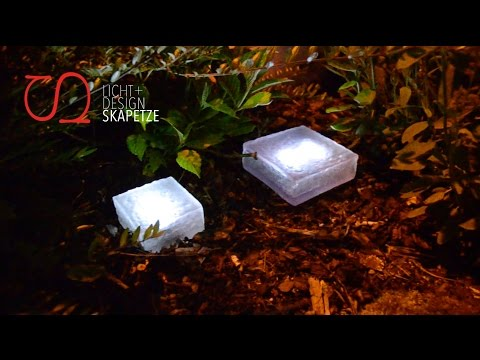 s luce patch solar led stein youtube. Black Bedroom Furniture Sets. Home Design Ideas