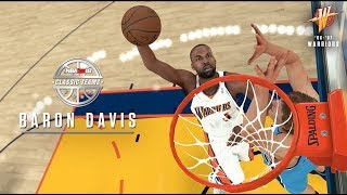 NBA 2K18 Announces 17th Classic/Historic Team! Baron Davis In The Game!
