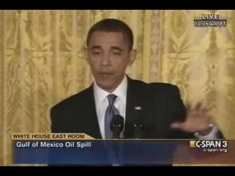 Pr. Obama Gulf Spill (2) Press Conference