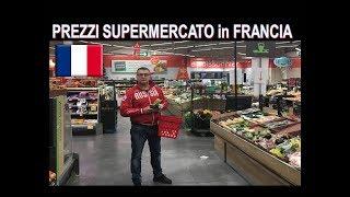 COSTO della VITA in FRANCIA !!! ( Lambrenedetto fa la spesa al supermercato)