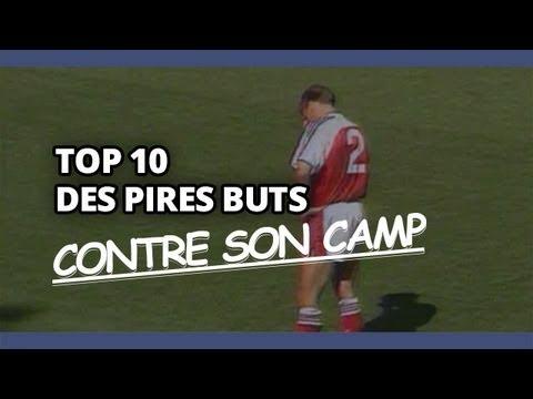 Top 10 des pires buts contre son camp