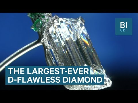 The largest-ever D-flawless diamond just sold for £25.3 million