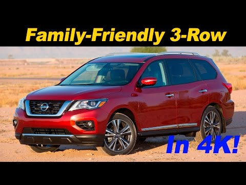 2017 Nissan Pathfinder First Drive Review - In 4K UHD!