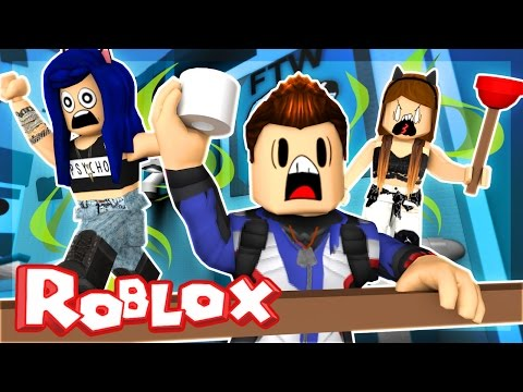 Roblox Obby - ESCAPE THE STINKY BATHROOM!   ItsFunneh Mp3
