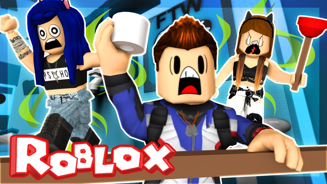 Roblox Obby Escape The Stinky Bathroom Itsfunneh Youtube