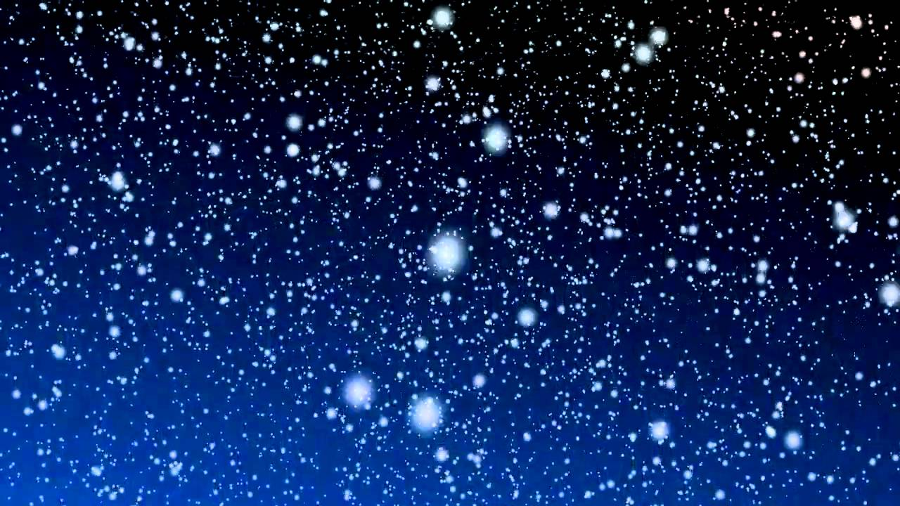 Free Snowy Night Motion Background - YouTube