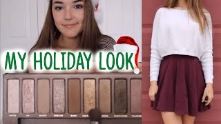 My Holiday Look // Makeup & Outfit | Reese Regan Thumbnail