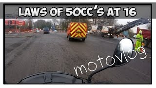 50cc Motovlogs: Laws to owning at 50cc at 16