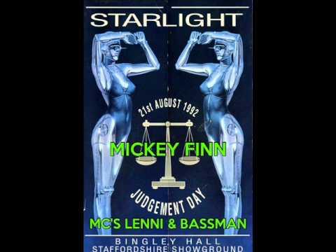 Dj Mickey Finn & Mc's Lenni & Bassman @ Starlight 21st August 92
