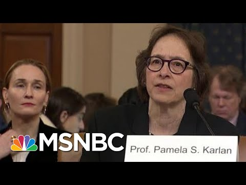 Prof. Karlan: 'I Would Not Speak Without Reviewing The Facts' | MSNBC