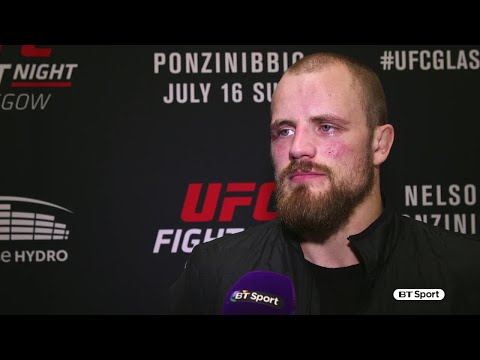 Gunnar Nelson: Ponzinibbio poked my eye and I couldn't see