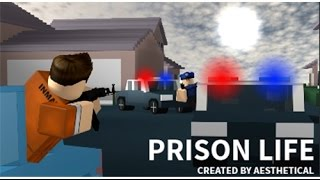 Roblox Prison Life The Escape