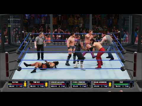 WWE2K18 Elimination Chamber United States Championship