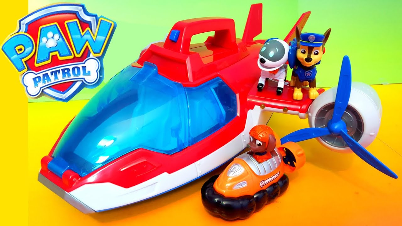 PAW PATROL Nickelodeon Paw Patrol Air Patroller a Paw Patrol Video ...