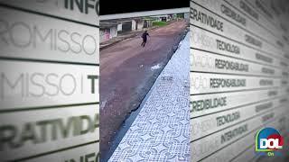 Vídeo: jovem não aguenta e desmaia após ser assaltado em Ananindeua