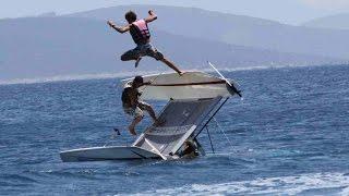 Extreme Catamaran Sailing at Turkey coasts