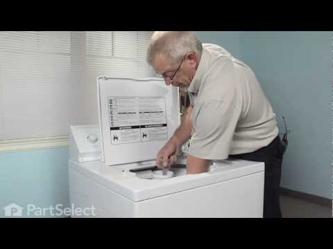 Washer Repair- Replacing the Agitator Repair Kit (Whirlpool