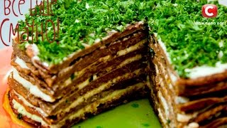 Торт из телячьей печени и овощной прослойкой - Все буде смачно - Рецепт