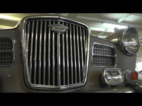 Classic Wolseley 16-60 Saloon Car Abandoned at UK Airport ?