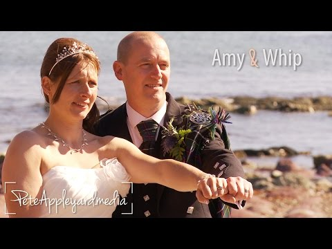 Amy & Whippet - Outdoor wedding at Pelynt