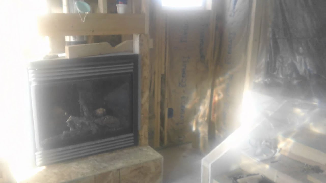 how to build a raised hearth