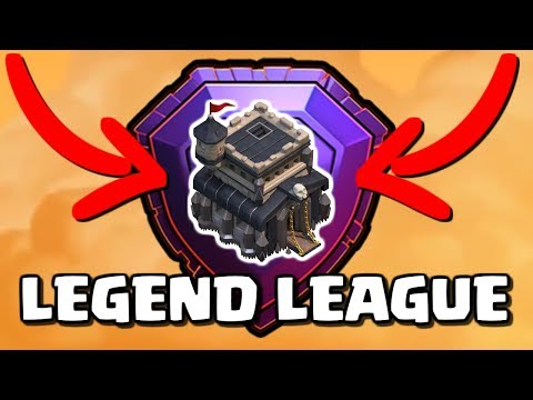 TOWN HALL 9 LEGENDS!! TH9 Trophy Pushing Attack Strategy For Multiplayer In Clash Of Clans!