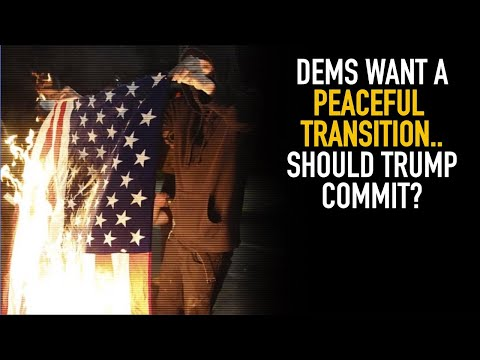 Dems And Media Want Trump To Transition Power Peacefully; 2020 Debate Preview