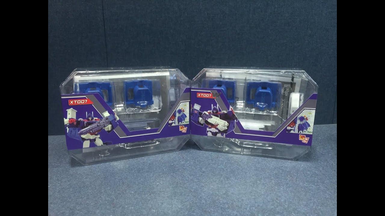 NEW x 2 TOYS XT007W Upgrade Kit per Transformers Masterpiece MP22 ULTRA MAGNUS