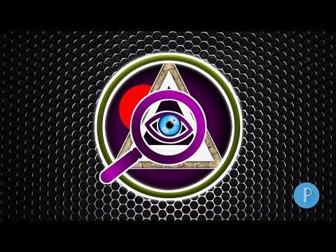 illuminati Logo Design in Android | illuminati Logo Design | Pixellab  Logo Making | Technical Art