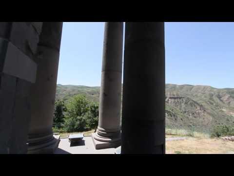 The Temple of Garni (classical Hellenistic Pagan Temple) Armenia