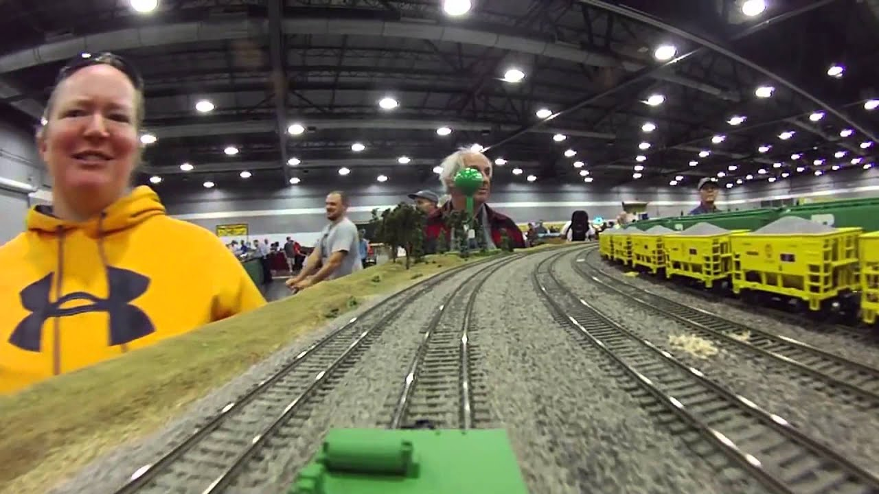 Image result for 2016 intermountain model train expo