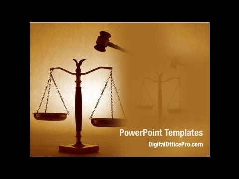 Justice Symbol Powerpoint Template Backgrounds Digitalofficepro